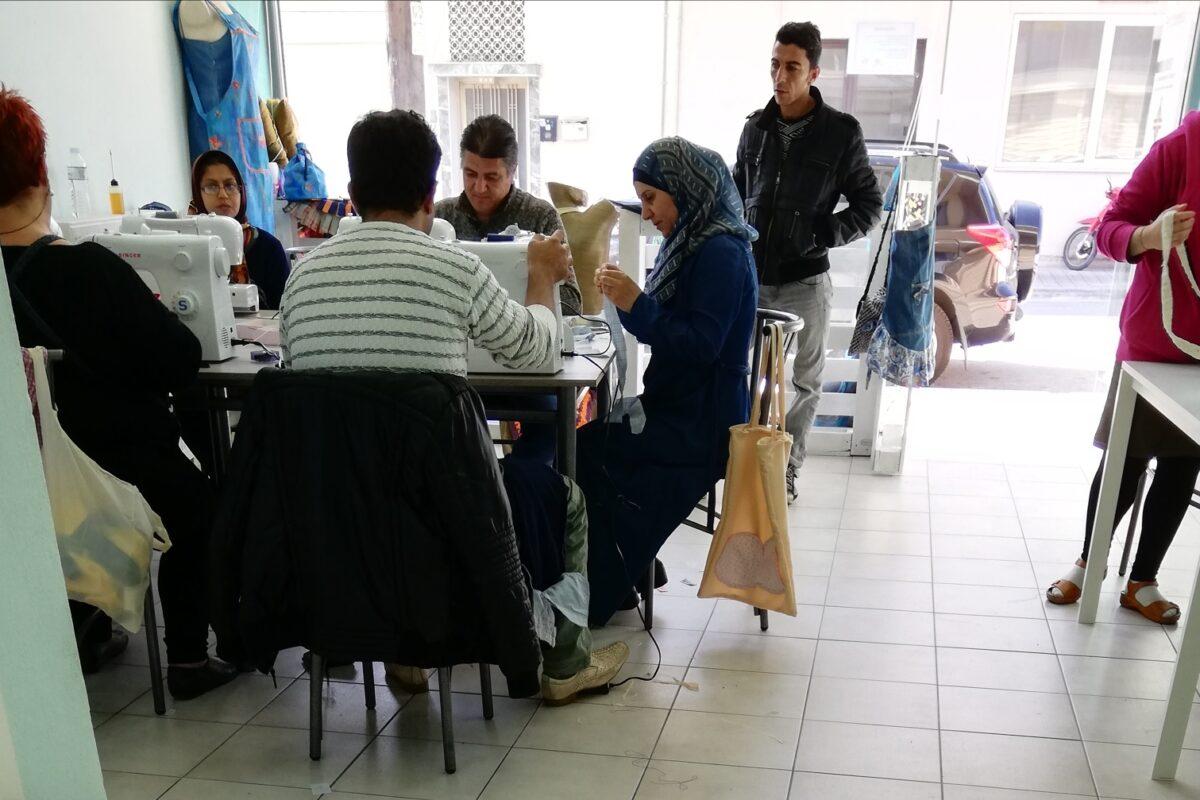 Members Study Visit | Greece | Perichoresis NGO & Refugee Integration