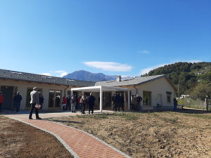 Picture of new wing of Re Carlo Alberto nursing home