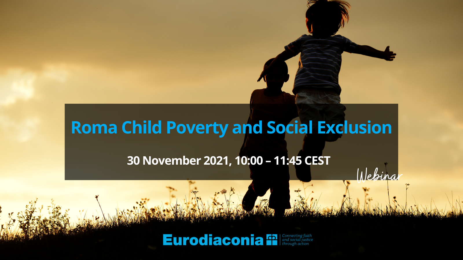 WEBINAR - Roma Child Poverty and Social Exclusion